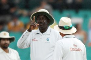 ICC Cricket Umpire Stev Bucknor accpeted his mistake