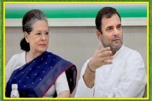 the CWC meet ended at the resolution that Sonia Gandhi will continue to lead as interim president for now.