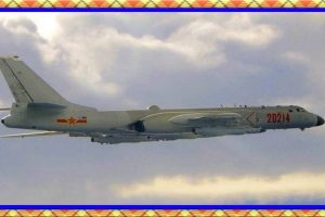 CHINA TAIWAN AMERICA 18 war planes crossed the mid-line of the Taiwan Strait even as island was hosting top U.S. official