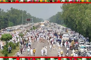 Famer's Agitation in Punjab Haryana are staging protests on streets
